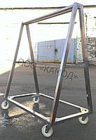 Тележка для перевозки полутуш двухстороння (усиленная)