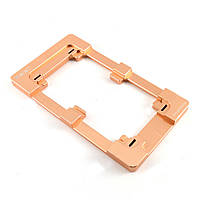 Форма-фиксатор для склеивания стекла с дисплеем Apple iPhone 6: 4.7-дюйма (металлическая)