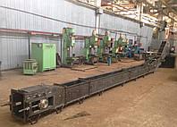 Скребковый конвейер (транспортёр цепной скребковый)