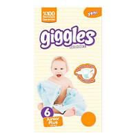 Подгузник детский Giggles, Jumbo, Junior (6), 15-30 кг, 46 шт.