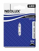 NEOLUX LED  / тип лампы C5W - 41mm / 6000K / 1шт