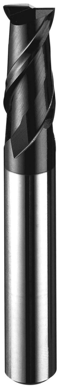 Фреза концевая твердосплавная шпоночная удлиненная по стали или чугуну, диаметр 12 мм 250LH2EMB-120 - NikaTools интернет портал в Харькове