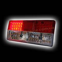 Задняя оптика для ВАЗ 2105 cветодиодный кристальный, красный RS05-04388
