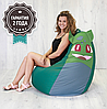 """Детское кресло мешок """"Poke"""" L 90x60 см зеленый"""