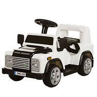 Дитячий електромобіль Land Rover M 3163BR-1 білий