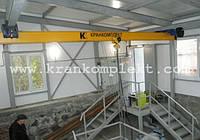 Кран мостовой подвесной двухбалочный