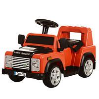Детский электромобиль Land Rover M 3163BR-7 оранжевый