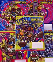 Тетради в косую без дополнительной линии MUTANT NINJA  TURTLES Comics-16