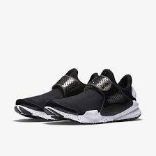 """Кроссовки мужские в стиле Nike Sock Dart """"Black And White"""""""