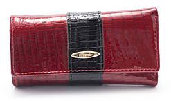 Солідна яскраво червона лакова ключниця H. VERDE art. 2232B-PL.1-44 red