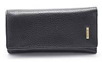 Солідна чорна ключниця H. VERDE art. 2113 black, фото 1