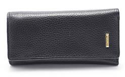 Солідна чорна ключниця H. VERDE art. 2113 black