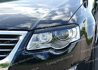 Реснички Фольксваген Пассат Б6 (накладки на передние фары Volkswagen Passat B6)