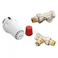 Комплект радиаторных терморегуляторов прямой 013G5174