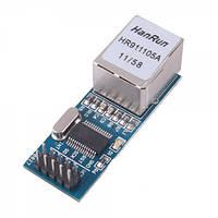 Плата расширения Arduino Ethernet Shield ENC28J60