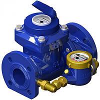 Счетчик воды турбинный комбинированный Gross  WPVD-UA 100/20