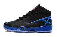 Баскетбольные кроссовки Nike Air Jordan 30 black-blue