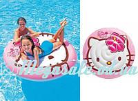 """Детский надувной плотик """"Hello Kitty"""": 137см с веревкой (Intex 56513)"""