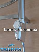 ЭлектроТЭН с корпусом каплевидной формы в полотенцесушитель, Польша, хром, с регулятором. Heatpol 3GM chrome