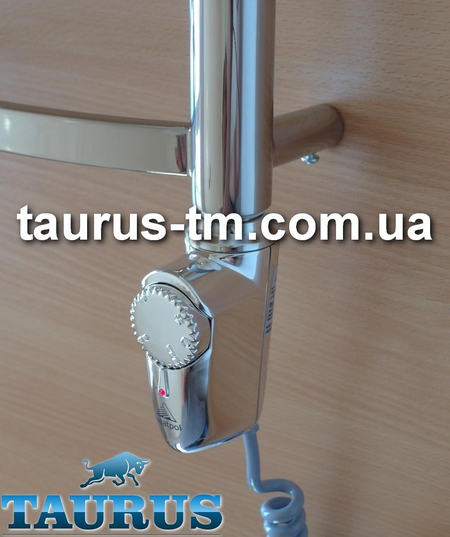 ЭлектроТЭН Heatpol 3GM chrome с корпусом каплевидной формы в полотенцесушитель, с регулятором 10-65С; Польша