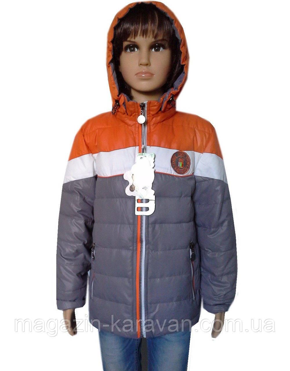 Практичная куртка для мальчика демисезонная