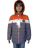 Практичная куртка для мальчика демисезонная, фото 1
