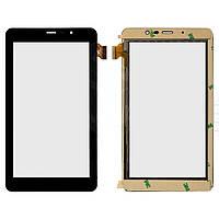 Сенсорный экран (touchscreen) для Texet TM-7058 3G, 30 pin, оригинал (черный)