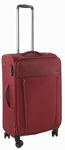 4-колесный практичный дорожный чемодан, тканевый 71/85 л. Roncato Zero Gravity 4432/89 т.красный