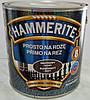 Hammerite™ Гладкая антикоррозионная краска (белая ночь, зеленая)  для черных и цветных металлов,  дерева. 5L