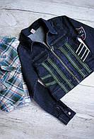 Пиджаки джинсовые для подростков