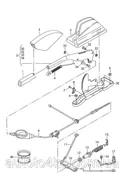 Стояночный тормоз фольксваген транспортер т5 фольксваген транспортер 2001г купить
