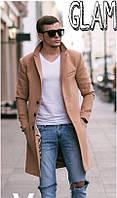Пальто кашемировое мужское удлиненное Классика