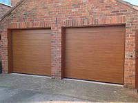 Секционные гаражные ворота Hormann RenoMatic 2016 Decograin 2500х2125