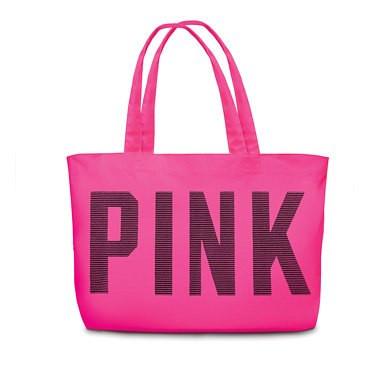 Сумка Victoria's Secret рожева з написом Pink