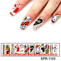Фотодизайн для ногтей Покер