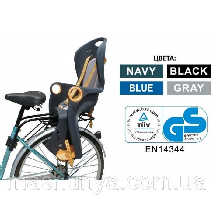 Велокресло Tilly T-821 (Bt-Bcs-0007) до 22 кг ставится сзади на раму