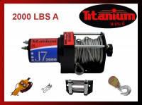 Лебедка ATV J7 2000 lbs A - TITANIUM WINCH