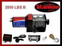 Лебедка ATV J7 2000 lbs B
