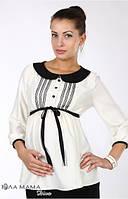 Блузка для беременных Camilla молоко-S,М