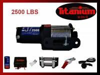 Лебедка для квадроцикла Titanium J7 2500 lbs