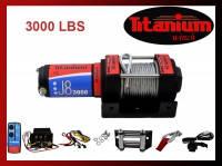 Лебедка для квадроцикла Titanium J8 3000 lbs