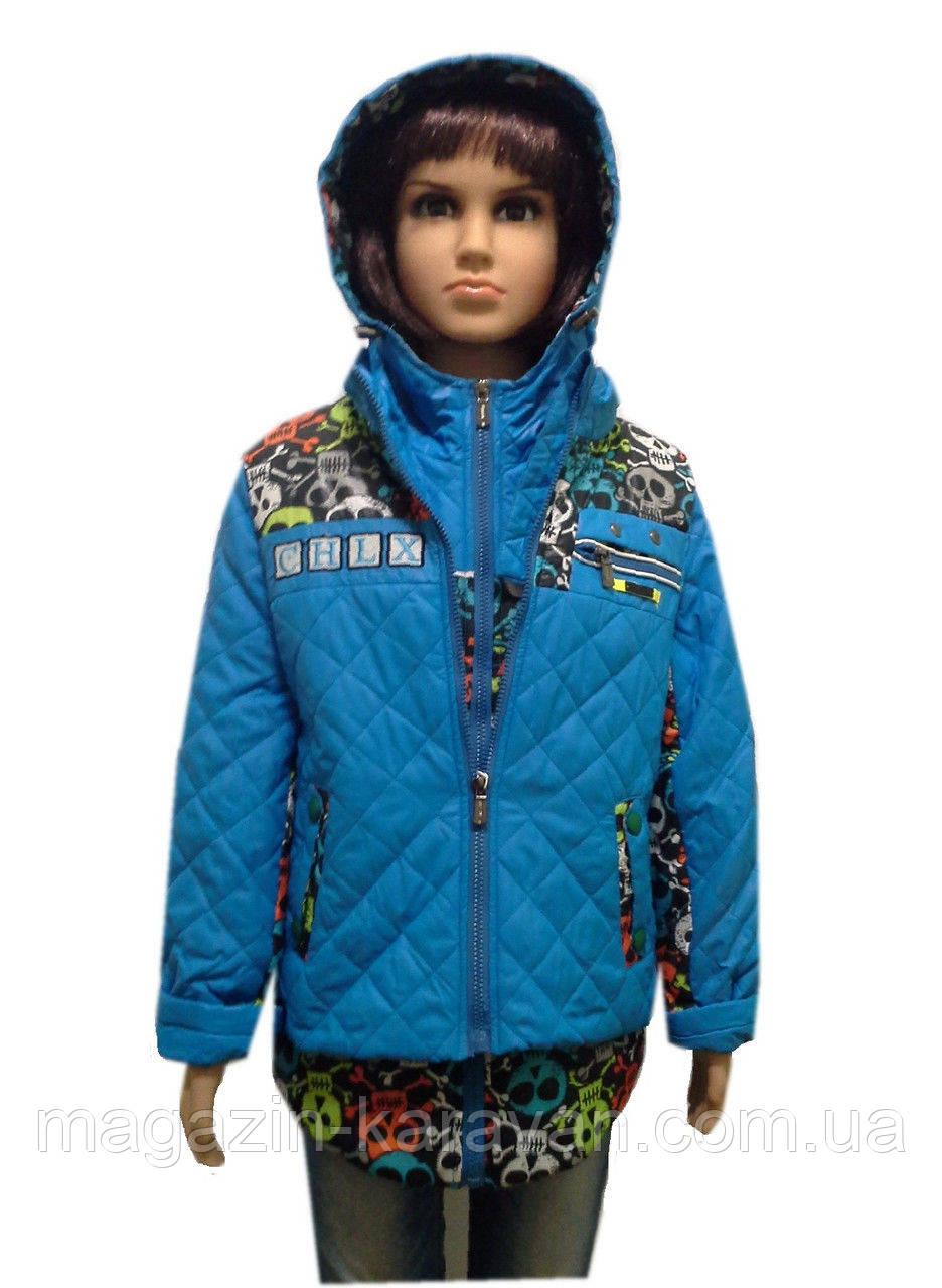 Демисезонная красивая детская курточка