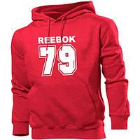 Мужская толстовка Reebok. Красная