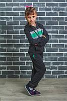 Детский спортивный костюм темно-серый, фото 1