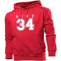Мужская толстовка Nike. Красная