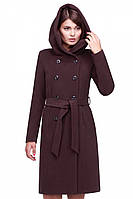 Купить женское пальто с капюшоном Nui very