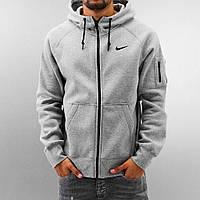 Мужская толстовка Nike. Серая