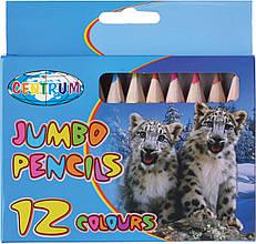 Олівці дитячі Zoo 12 кольорів
