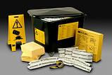 Наборы сорбентов 3M HSRK210 для ликвидации опасных разливов химических веществ. , фото 3