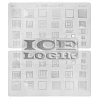 BGA-трафарет D2053 для мобильных телефонов HTC G14, G15, G16, G17, G18, G20, G21, 29 in 1